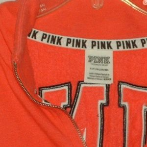 PINK Victoria's Secret Tops - Pink Victoria's Secret sweat shirt/jacket